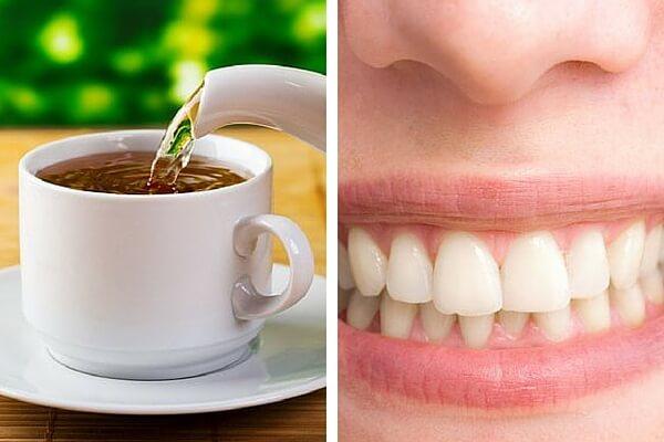 ¿Beber mucho té hace mal a los dientes?