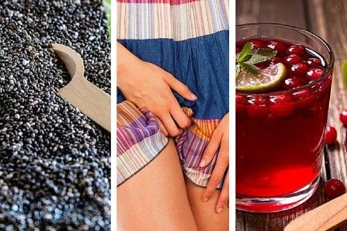 10 alimentos para tener una vagina saludable