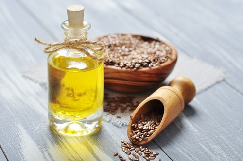 Aceite de linaza como jarabes naturales