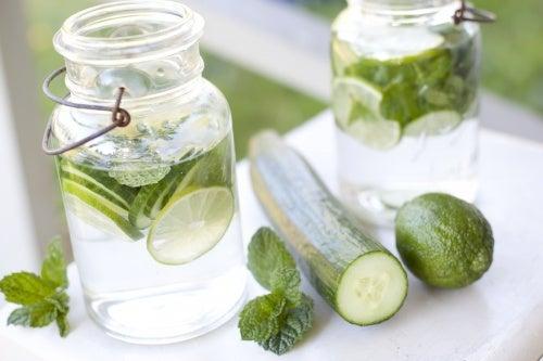 Bebida para limpiar el organismo