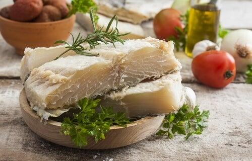 Bacalao, un alimento rico en yodo