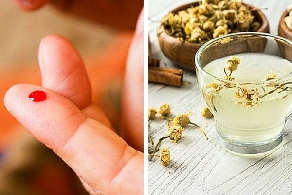 Manzanilla y canela para regular el azúcar en la sangre