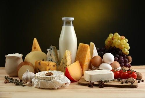 Consumir alimentos ricos en calcio