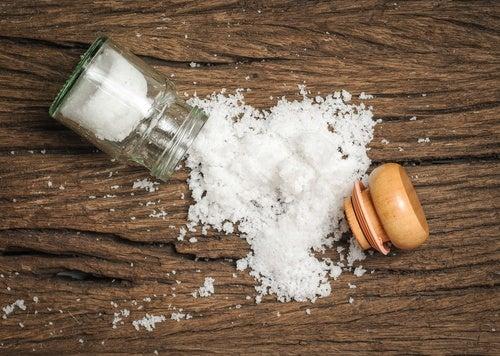 Consumir demasiada sal