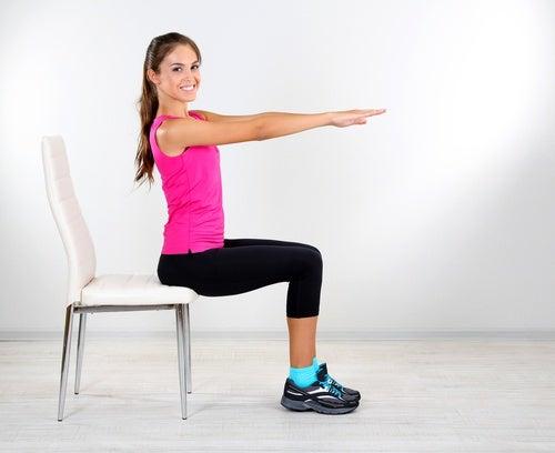 Flexiones de los pies