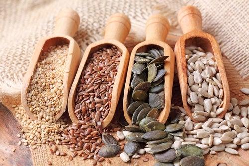 Lignanos combatir la deficiencia de nutrientes