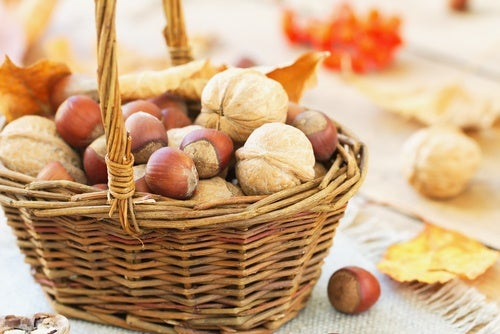 Macademias, nueces y pistachos