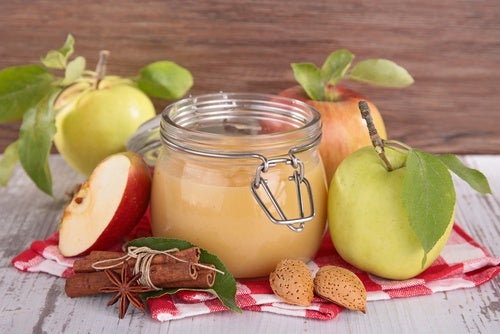 Manzanas en compota
