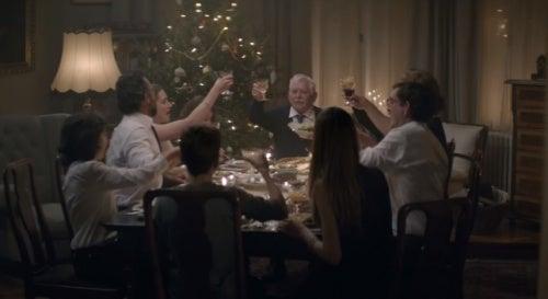anuncio navideño