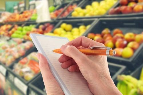 Modifica tu lista de compra