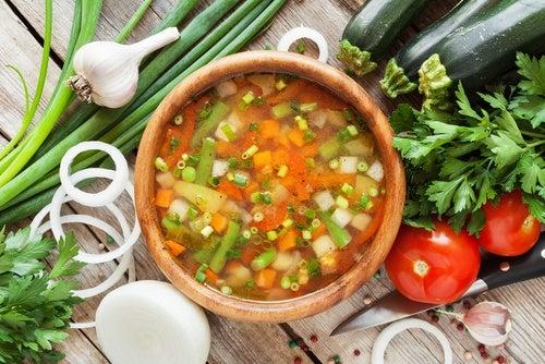Por qué la sopa hace bien