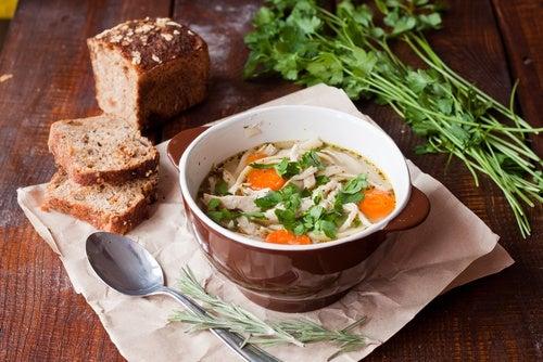 Qué debe llevar una sopa perfecta