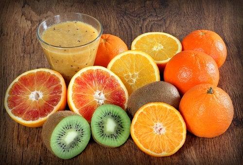 Vitamina C para combatir la deficiencia de nutrientes