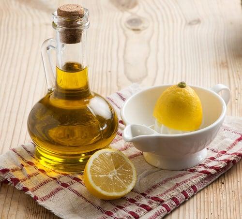 Forma nº 2 de preparar óleo essencial de limão