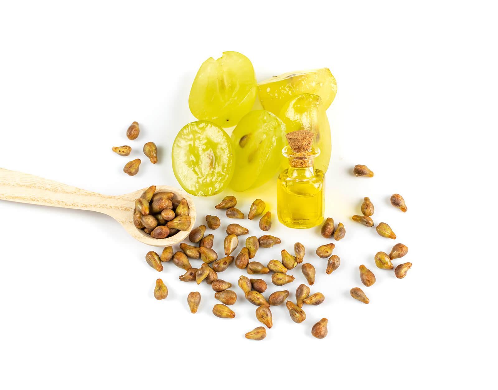 Beneficios de las semillas de uva para la salud y piel