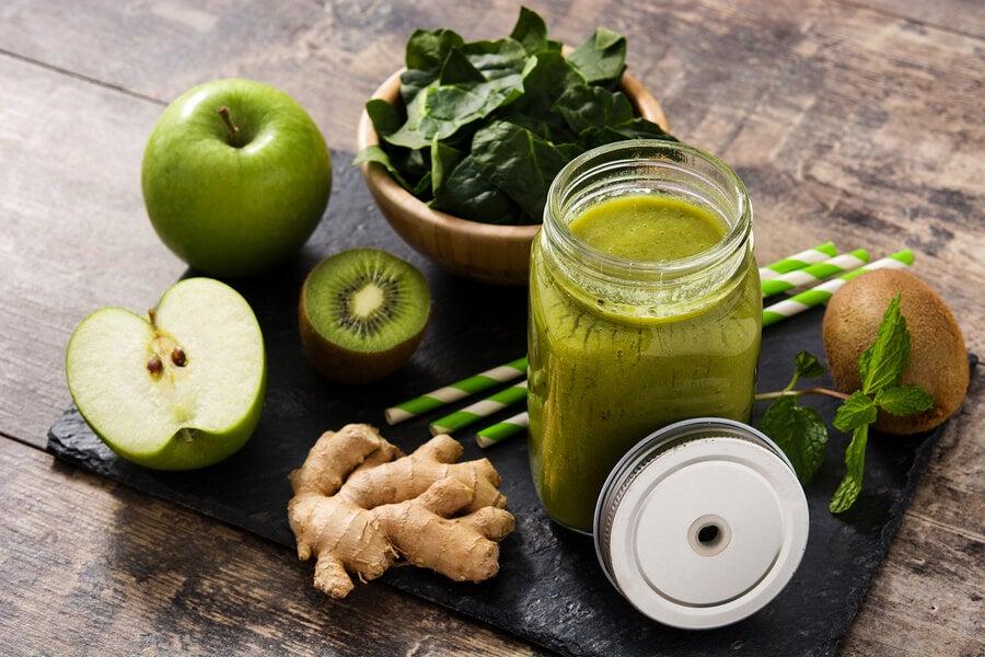 5 recetas saludables con jengibre para perder peso