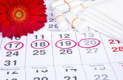Calendiario menstrual