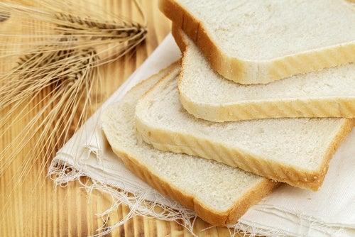 Cereales y pan de molde