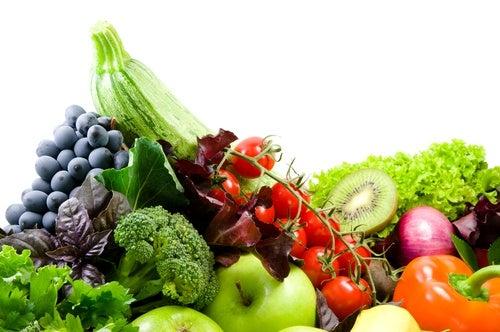 Frutas y verduras para regular el ciclo menstrual