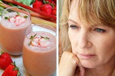 Licuado para tratar los efectos de la menopausia