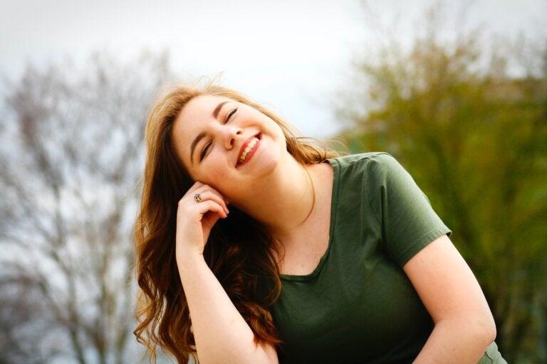 Me gustan las personas que sonríen con los ojos