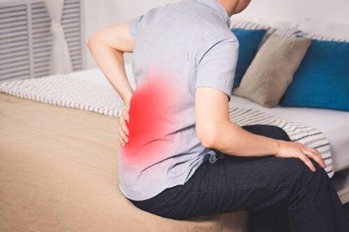 4 causas que debes conocer sobre el dolor en la parte baja de la espalda