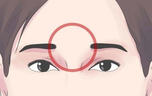 puntos de presión cabeza