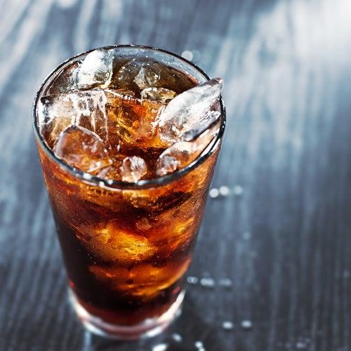 Vaso con Coca Cola