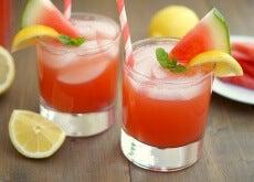 zumo-sandía para la inflamación
