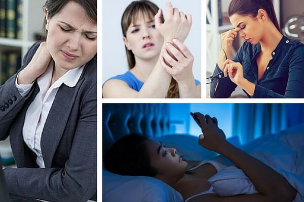 7 trastornos de salud causados por las nuevas tecnologías