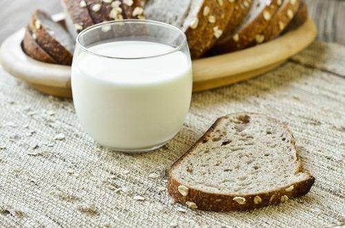 Cuidado con la leche y el pan