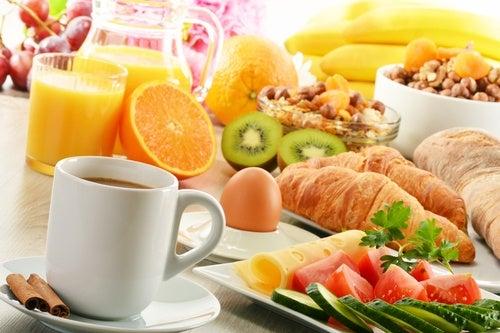 Desayuno y vitalidad