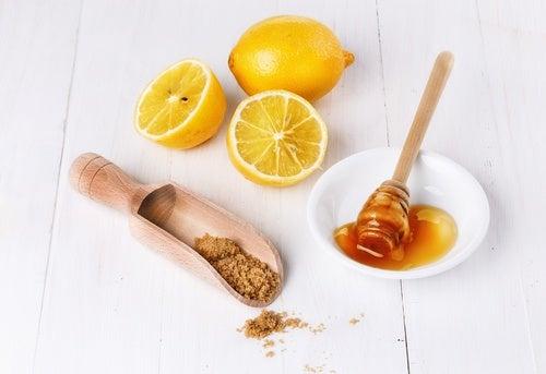Exfoliante de limón