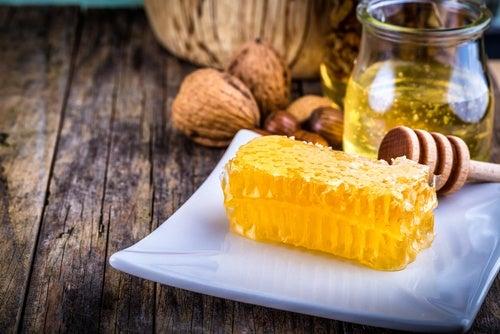 Harina de maíz y miel