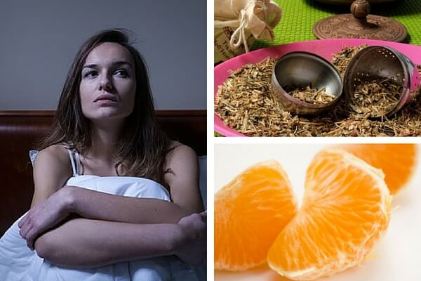 Infusión tranquilizante para combatir el insomnio rápidamente