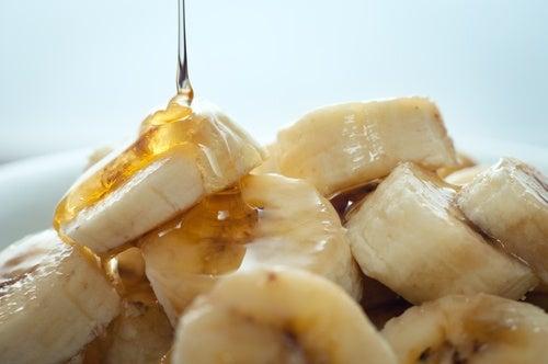 Receta de mascarilla de plátano y miel