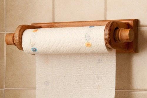 Sustituir las toallas de papel