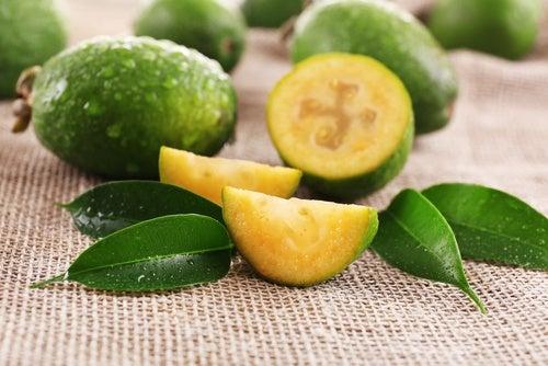 Té de hojas de guayaba
