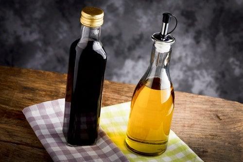 Tratamiento con vinagre, aceite y cerveza