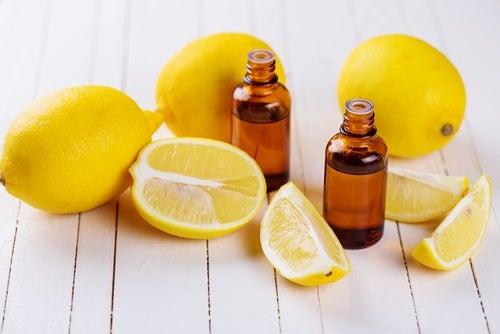 Tratamiento de aceite y limón
