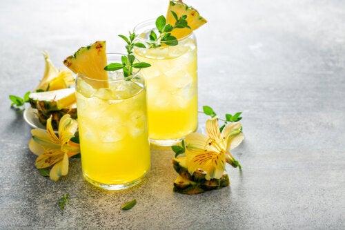 Cómo preparar agua de piña y por qué conviene tomarla con el estómago vacío