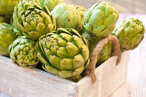 Reducir los niveles de azúcar, colesterol y ácido úrico con alcachofa