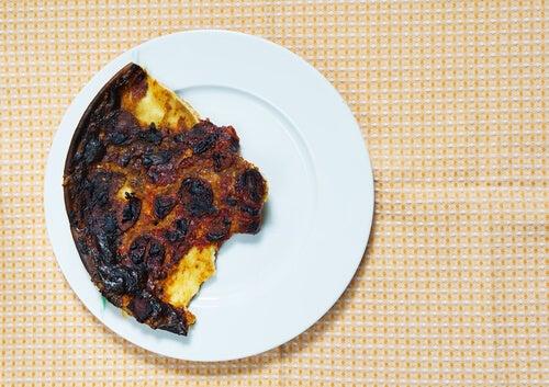 Alimentos quemados