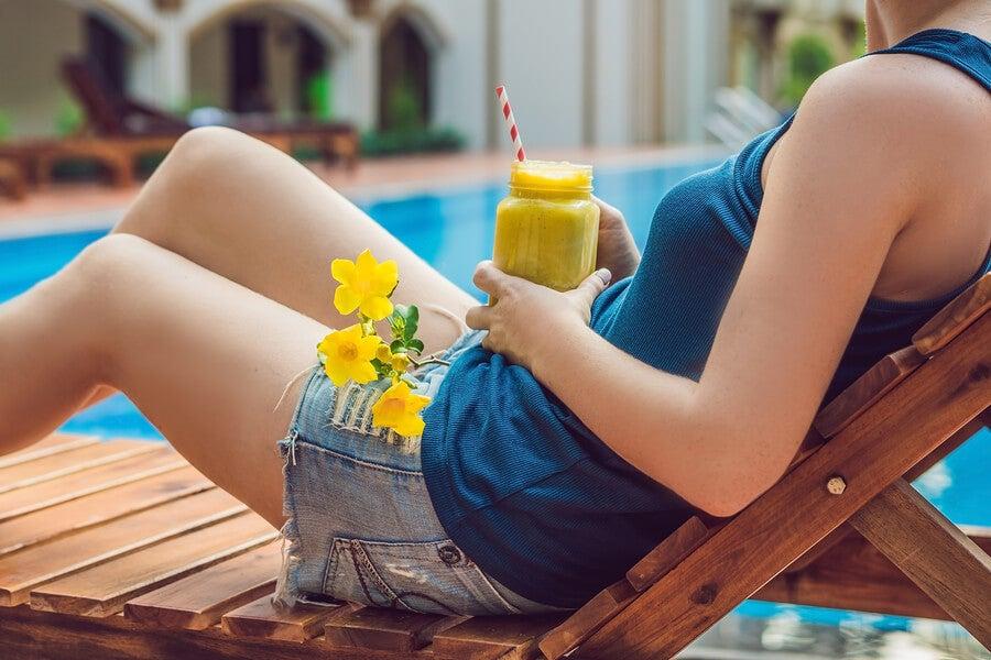Batidos de frutas y alimentos saludables para aumentar la fertilidad en las mujeres