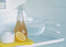 cómo limpiar el frigorífico con limón y bicarbonato de sodio