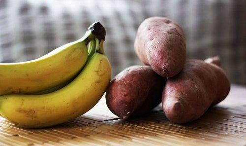 jugo de platano y patata