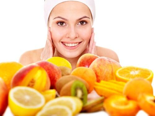 mascarillas con frutas