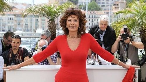Sophia Loren: se puede ser sensual a los 81 años