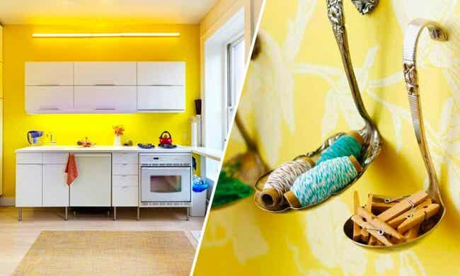 14 trucos con los que conseguirás ahorrar espacio en la cocina