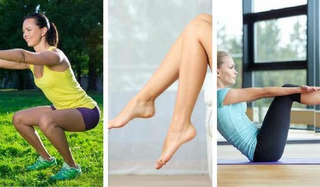 6 ejercicios para tener piernas tonificadas
